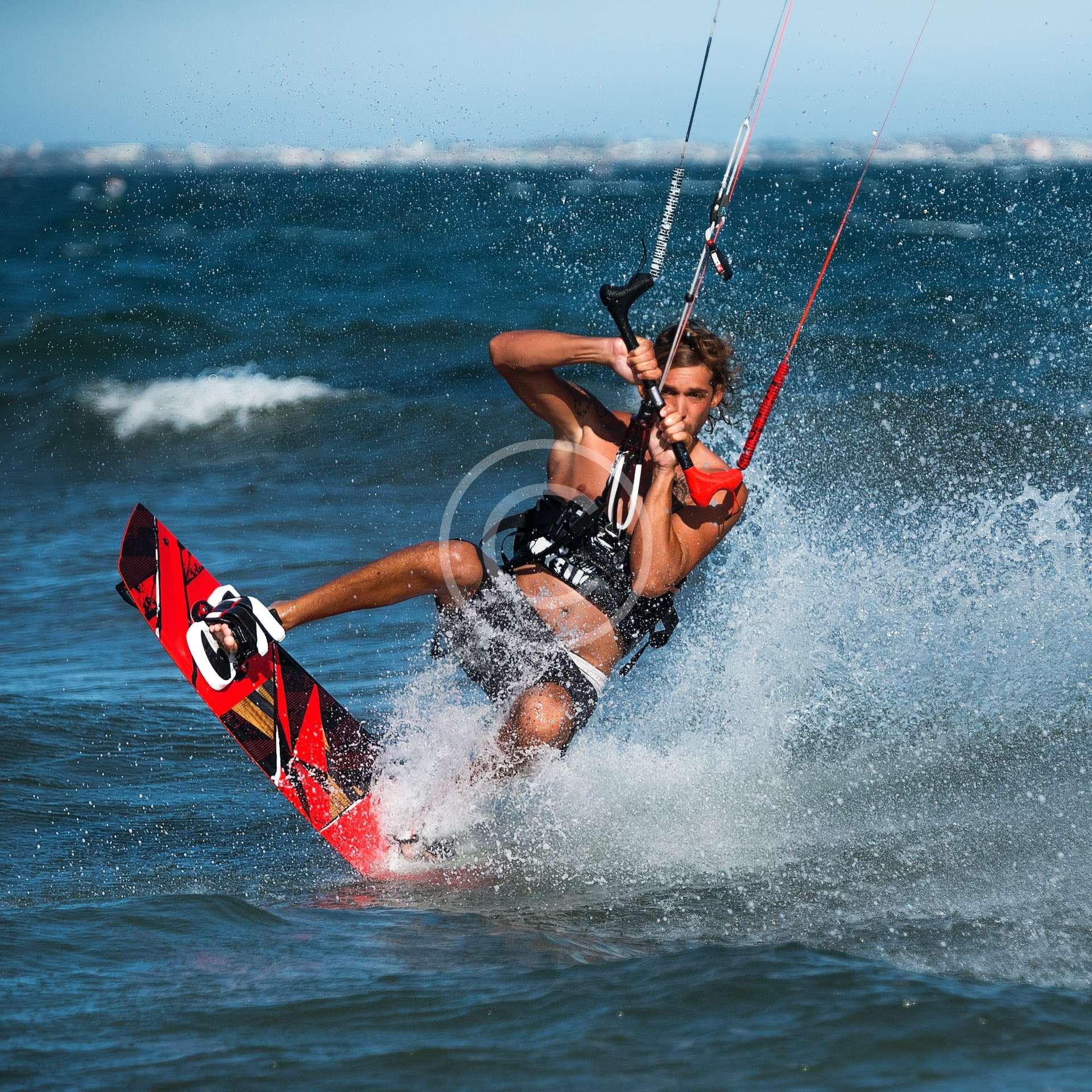 Corporate Kitesurfing